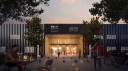 querencia architectes   atelier d'architecture   Blanc-Mesnil   Carré des aviateurs