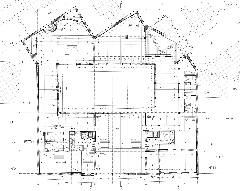 Querencia | Atelier d'architecture | Siège de Shearman and Sterling | Plan