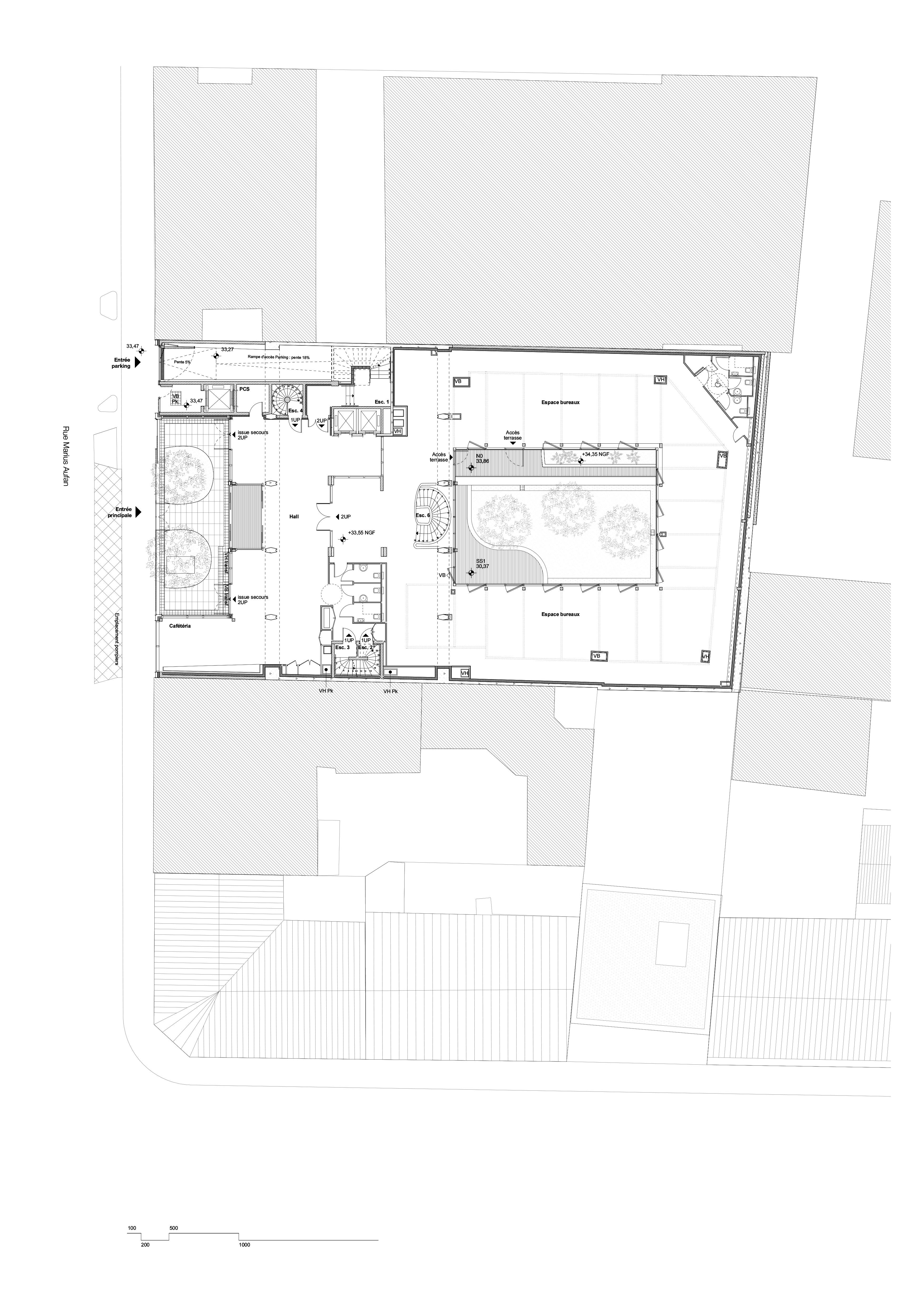 Querencia | Atelier d'architecture | Marius Aufan | Plan