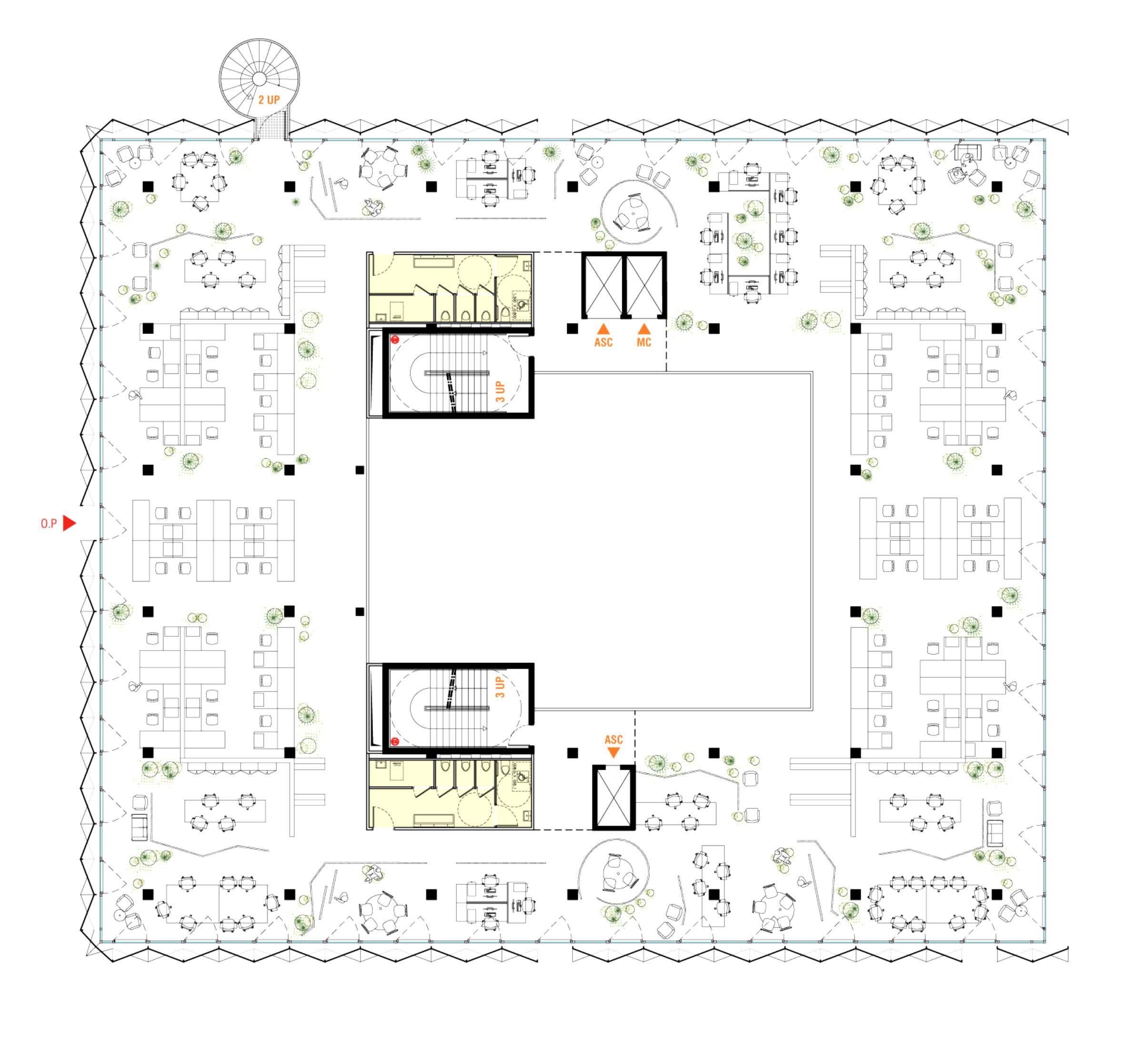 Querencia | Atelier d'architecture | Urban - Montreuil | Plan