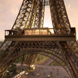 querencia architectes | atelier d'architecture | Paris | Tour Eiffel