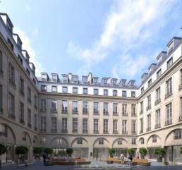 querencia architectes   atelier d'architecture   Paris   Carré Concorde